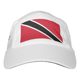 Trindadian and Tobagonian (Trinbagonian) flag Headsweats Hat