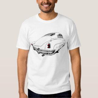 Trineo 1950 de la ventaja de Buick en blanco con Camisas