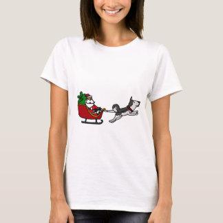 Trineo divertido del navidad con la tracción playera