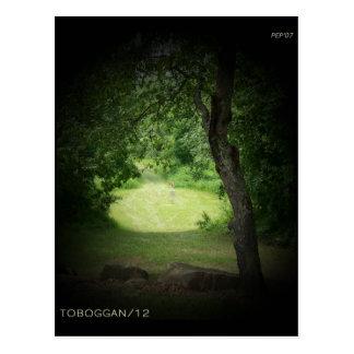 Trineo largo #12 de Kensington Tarjetas Postales