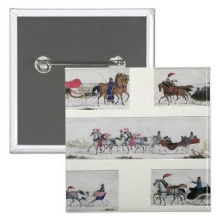 Trineos traídos por caballo rusos pins