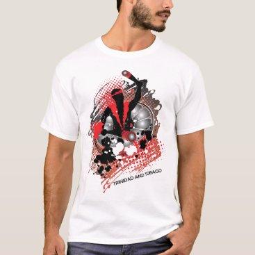 Beach Themed trini panman abstract T-Shirt