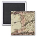 Trinidad 2 Inch Square Magnet