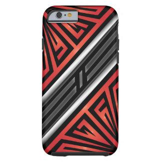 Trinidad Abstract Tough iPhone 6 Case