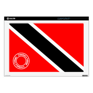 """Trinidad and Tobago 17"""" Laptop Decal"""