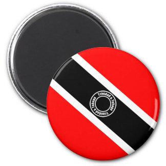 Trinidad and Tobago 2 Inch Round Magnet