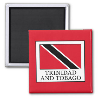 Trinidad and Tobago 2 Inch Square Magnet