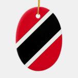 Trinidad and Tobago Adorno Ovalado De Cerámica