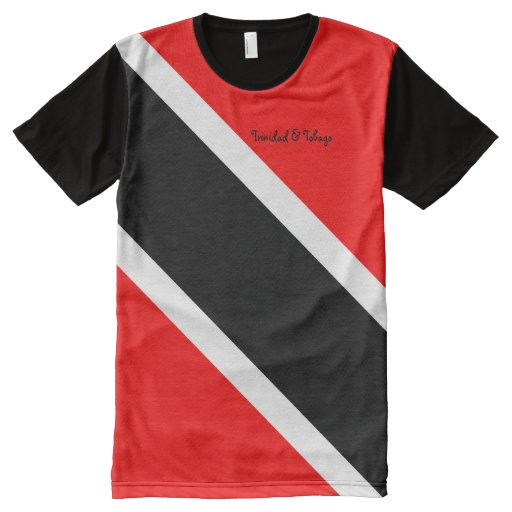 trinidad and tobago all over print t shirt zazzle