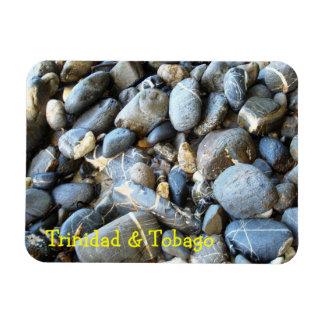 Trinidad and Tobago Beach Pebbles Rectangular Photo Magnet