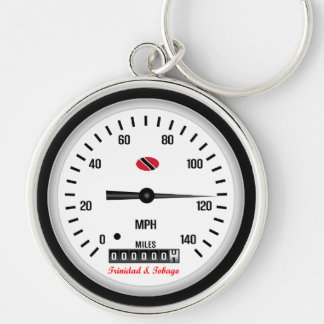 Trinidad and Tobago Car Speedometer Keychain