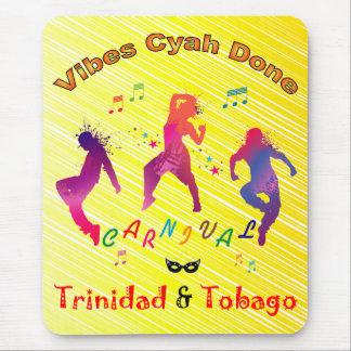 Trinidad and Tobago Carnival Bacchanal Mouse Pad