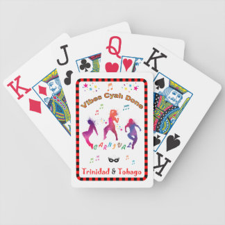 Trinidad and Tobago Carnival Bicycle Playing Cards