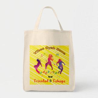 Trinidad and Tobago Carnival Grocery Bag