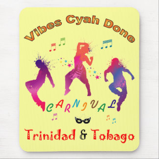 Trinidad and Tobago Carnival Mouse Pad