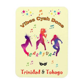 Trinidad and Tobago Carnival Rectangular Photo Magnet