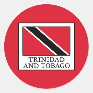Trinidad and Tobago Classic Round Sticker