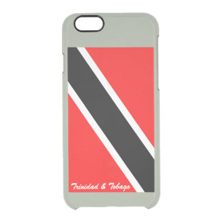 Trinidad and Tobago Clear iPhone 6/6S Case