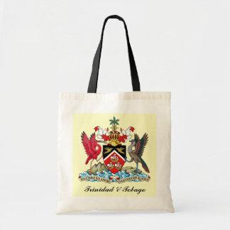 Trinidad and Tobago Coat Of Arms Budget Tote Bag
