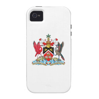 Trinidad and Tobago Coat of Arms Vibe iPhone 4 Cases