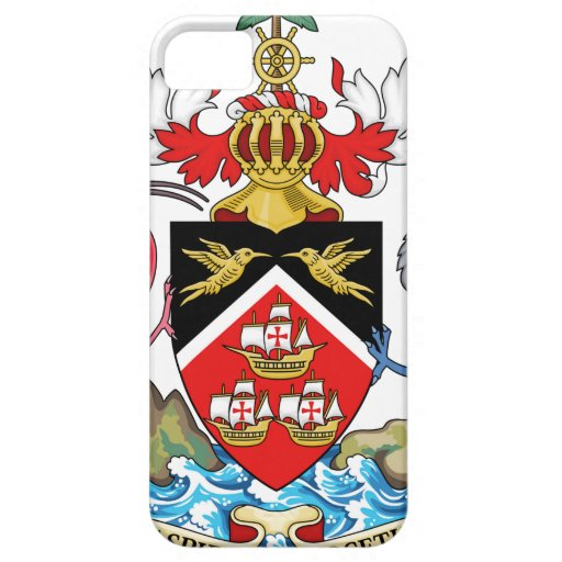 Trinidad and Tobago Coat of Arms iPhone 5 Cases