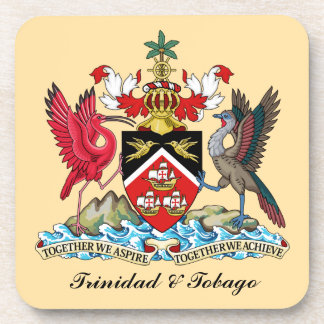 Trinidad and Tobago Coat Of Arms Coaster