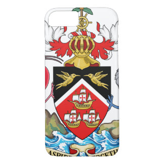 Trinidad and Tobago Coat of Arms iPhone 8/7 Case