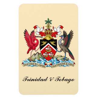 Trinidad and Tobago Coat Of Arms Magnet