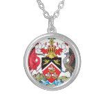Trinidad and Tobago Coat of Arms Necklace