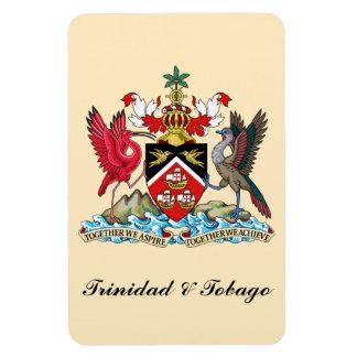 Trinidad and Tobago Coat Of Arms Rectangular Photo Magnet