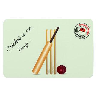 Trinidad And Tobago Cricket Rectangular Photo Magnet