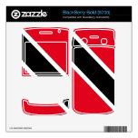 Trinidad and Tobago Decal For BlackBerry Bold