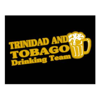 Trinidad and Tobago Drinking Team Postcard