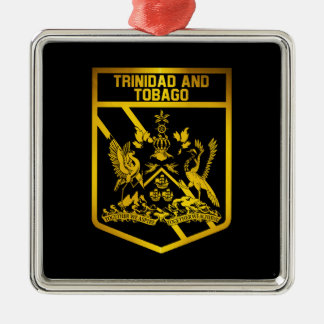Trinidad and Tobago Emblem Metal Ornament