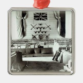 Trinidad and Tobago Exhibition, 1890 Metal Ornament