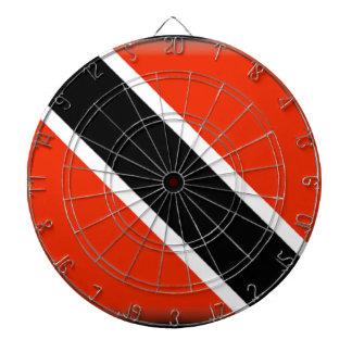 Trinidad and Tobago Flag Dart Board