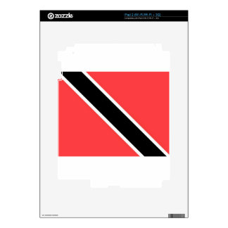 Trinidad And Tobago Flag Decal For iPad 2