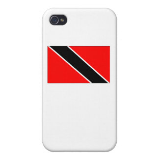 Trinidad And Tobago Flag iPhone 4/4S Covers