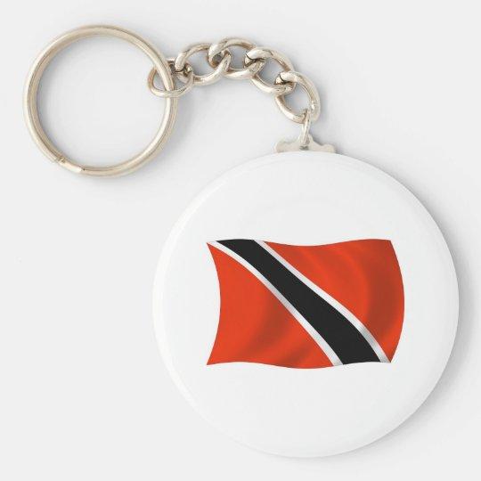 Trinidad and Tobago Flag Keychain