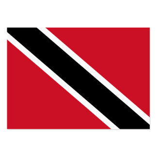 Trinidad and Tobago Flag Large Business Card
