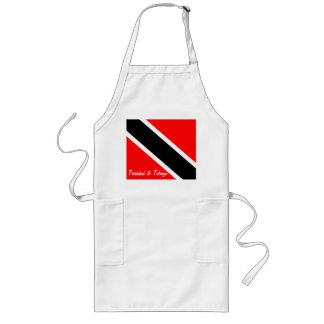 Trinidad and Tobago Flag Long Apron