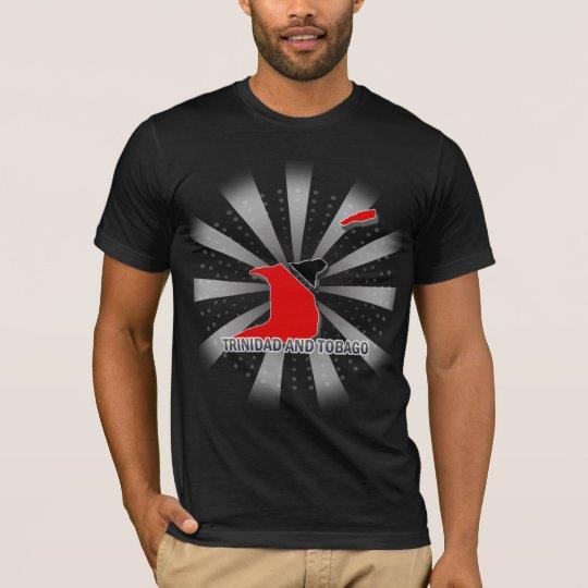 Trinidad And Tobago Flag Map 2.0 T-Shirt
