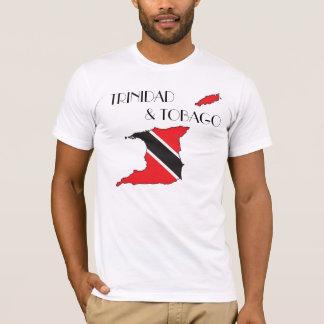 Trinidad and Tobago Flag-Map Shirt
