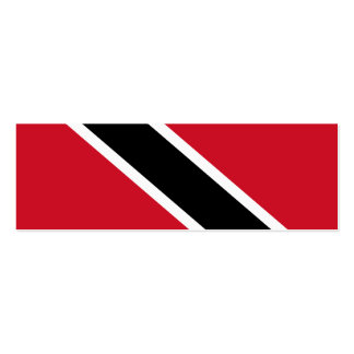 Trinidad and Tobago Flag Mini Business Card