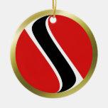 Trinidad and Tobago Flag Ornament