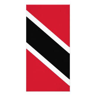 Trinidad and Tobago Flag Photo Card Template