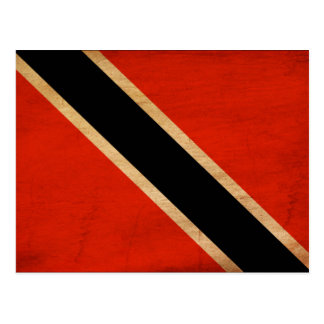 Trinidad and Tobago Flag Postcard