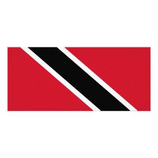 Trinidad and Tobago Flag Rack Card Template