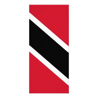 Trinidad and Tobago Flag Custom Rack Card