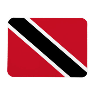Trinidad and Tobago Flag Rectangle Magnets